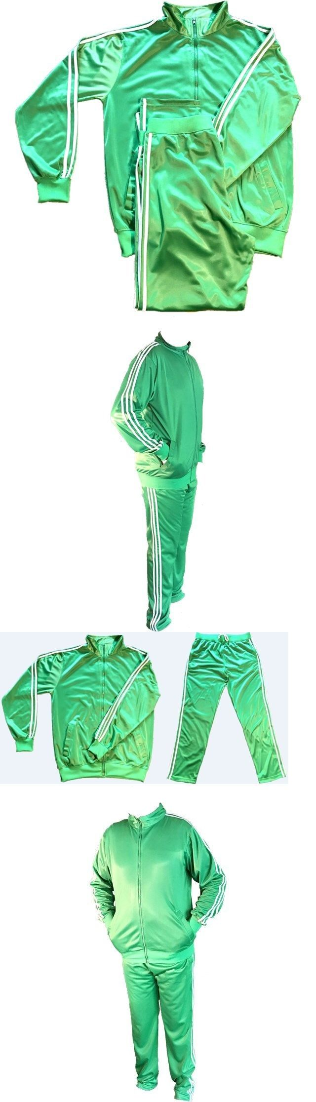 Track Suits 59339: 3 Stripes Light Weight Trinda Full Tracksuit Jogging Suit- Size: Xl- Unisex -> BUY IT NOW ONLY: $36.99 on eBay!