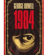 1984 is author George Orwell's dark vision of the future. Written while Orwell was dying, it is a chilling depiction of how the power of the state could come to dominate the lives of individuals through cultural conditioning.: Enot, Lit Guide, Student, Big Brother, Teacher
