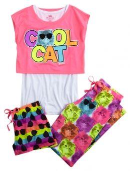 Cool Cat Pajama set
