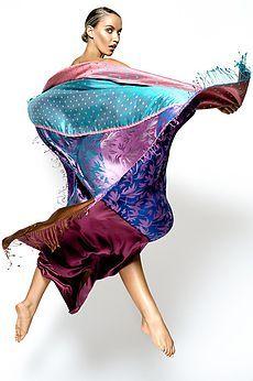 Exotic Kashmir Silk Scarves