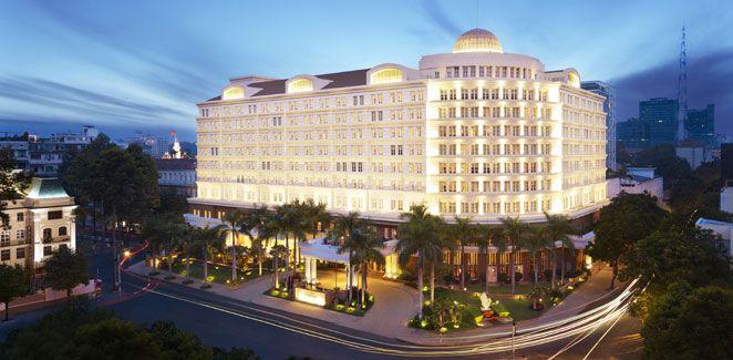 Park Hyatt Saigon... that's where we are :) #hotelchiminhcity #luxuryhotel #hotelinsaigon