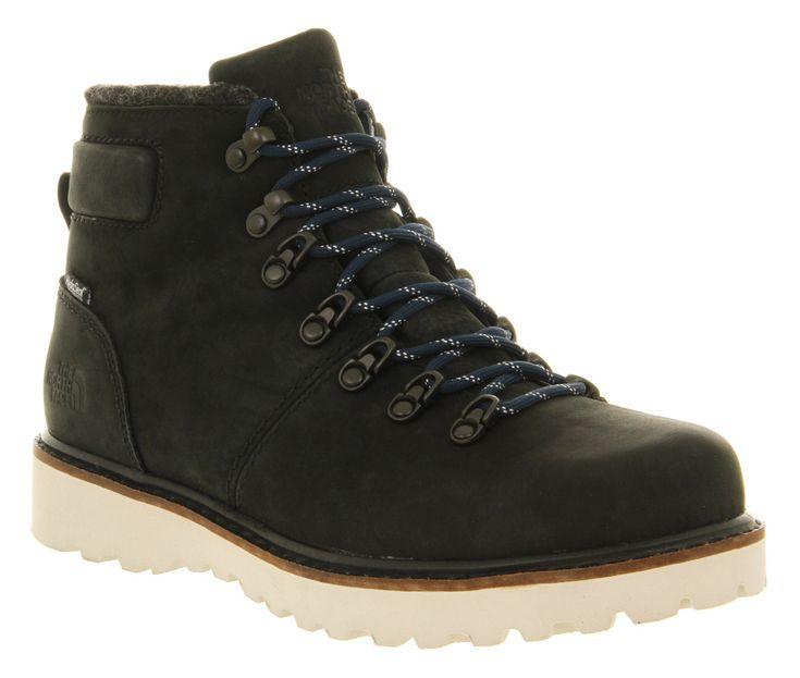 The North Face Mens Ballard 6 Inch Black Mountain Blue - Boots