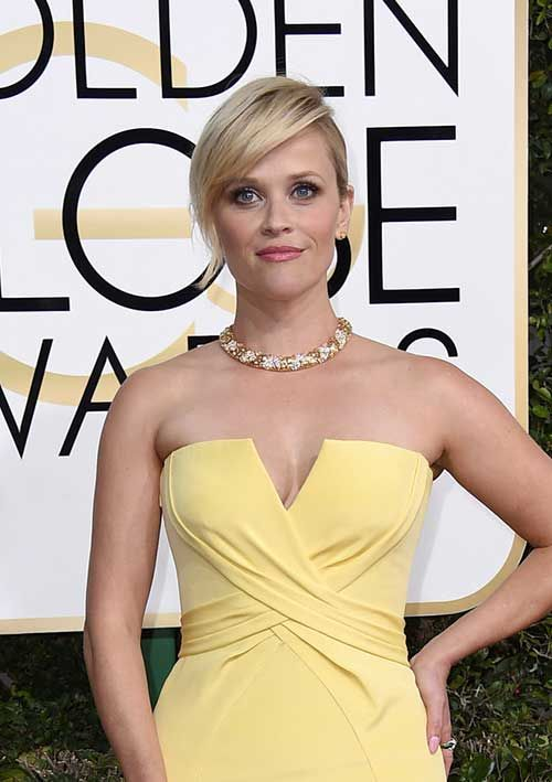 Celebs with Short Hair at the Golden Globes 2017: #5. Reese Witherspoon