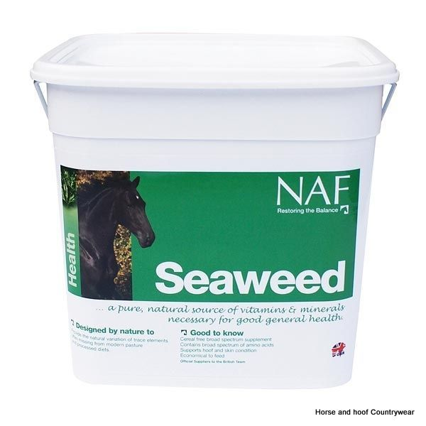Natural Animal Feeds Seaweed Contains a wide range of vitamins minerals trace elements and amino acids to support a healthy skin and coat.