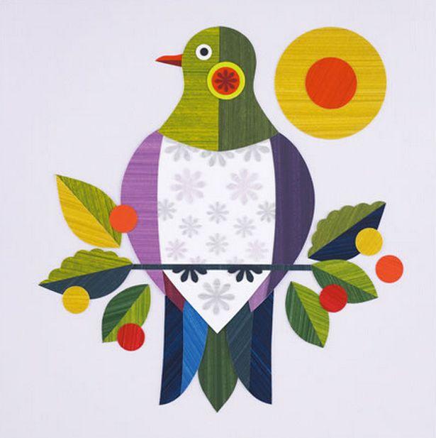 Kereru - NZ Wood Pigeon. By Ellen Giggenbach. An Image Vault publication.
