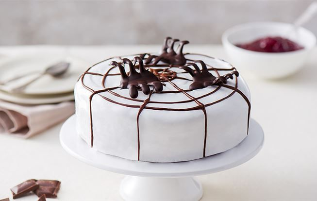 Halloweenská torta