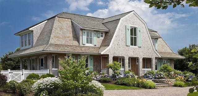 Decoración Retro: Hoy me gusta...esta casa en Cape Cod