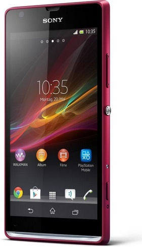 Sony Xperia SP Red