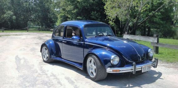 La fusión entre un Corvette y un Escarabajo