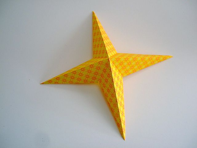 Paper Stars 9 by annekata, via Flickr