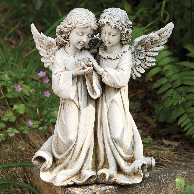 17 best images about garden statues on pinterest gardens bird feeders and bird baths. Black Bedroom Furniture Sets. Home Design Ideas