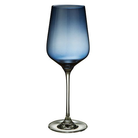 Buy Design Project by John Lewis No.018 Red Wine Glass, Blue, 450ml Online at johnlewis.com