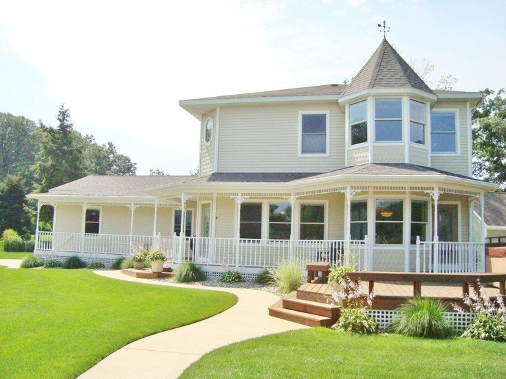 20 best dream homes images on pinterest dream houses for House with wrap around porch for sale