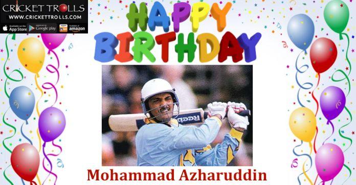 #HappyBirthday #MohammadAzharuddin #Cricket #IPL  http://www.crickettrolls.com/2016/02/08/happy-birthday-mohammad-azharuddin-8th-feb/
