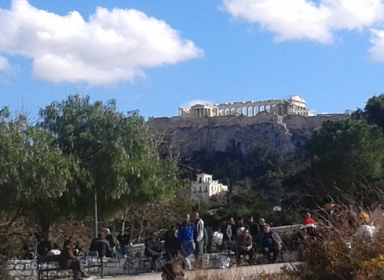 in athens: a sunny afternoon in thiseio   my greece, my travels