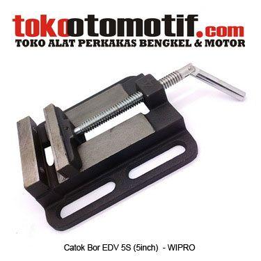Kode :  020206 Nama : Catok Bor Merk : WIPRO Tipe : EDV 5S (5inch) Status : Siap Berat Kirim : 2 kg