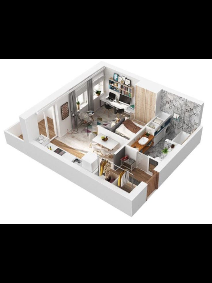 14 best apartamentos completos images on Pinterest Homes, Kitchen - plan maison sketchup gratuit