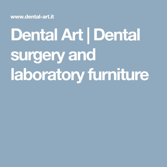 Dental Art | Dental surgery and laboratory furniture