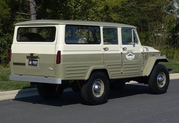More Iconic: 1967 Toyota Land Cruiser FJ45