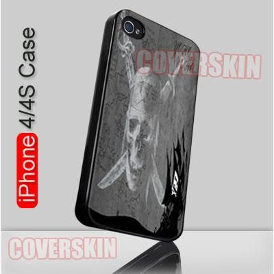 Pirate Flag iPhone 4 or 4S Case Cover - 1