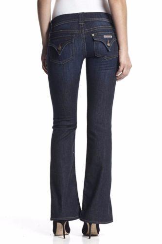 f9f1f5b40d1 Hudson-Womens-Jeans-24-x-34-Signature-Bootcut-Fire-Flap-Pocket-Dark-Indigo- Denim