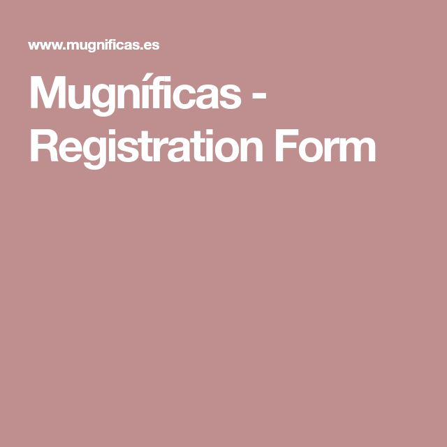 Mer enn 25 bra ideer om Registration form på Pinterest Dashbord - selective service registration form