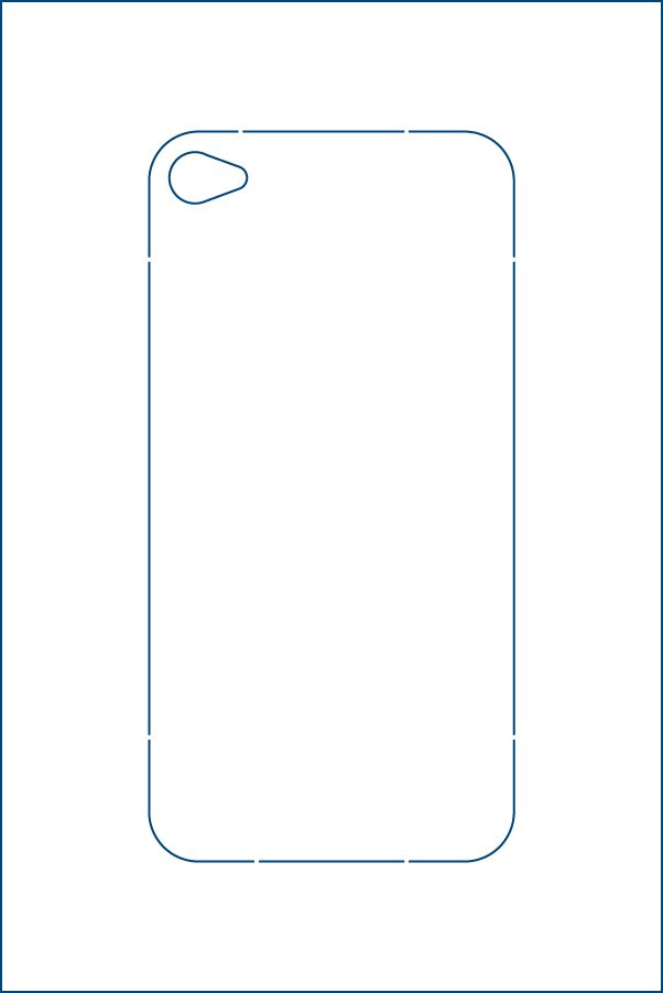 Iphone template | DIY | PinterestIphone 4 Template