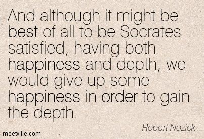 Robert Nozick (November 16, 1938 – January 23, 2002) was an American philosopher who was most prominent in the 1970s and 1980s. He was a professor at Harvard University. He is best known for his book Anarchy, State, and Utopia (1974), a libertarian answer to John Rawls' A Theory of Justice (1971). His other work involved decision theory and epistemology.