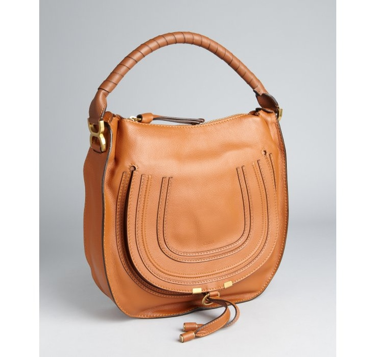 Chloe \u0026quot;Marcie\u0026quot; medium hobo shoulder bag in tan. Perfecto! | My ...