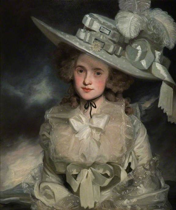 John Hoppner - Portrait of Mary Boteler