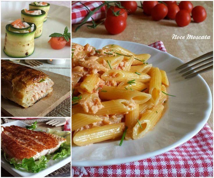 Le ricette con il salmone sono una raccolta di idee su come preparare questo gustoso pesce, dall'antipasto al secondo piatto.