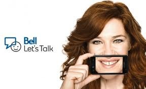 Every February 8th Bell and  Canadian Olympian Clara Hughes gets the conversation going to raise awareness and support for mental health