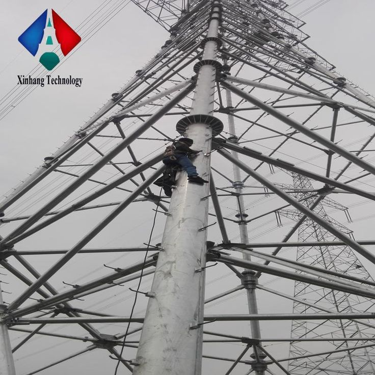 steel utility power electric poles for sale transmission line 132kv tower