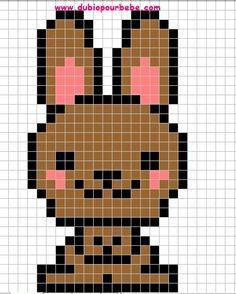 Beliebt 13 best pixel art animaux images on Pinterest | Pixel art  TB53
