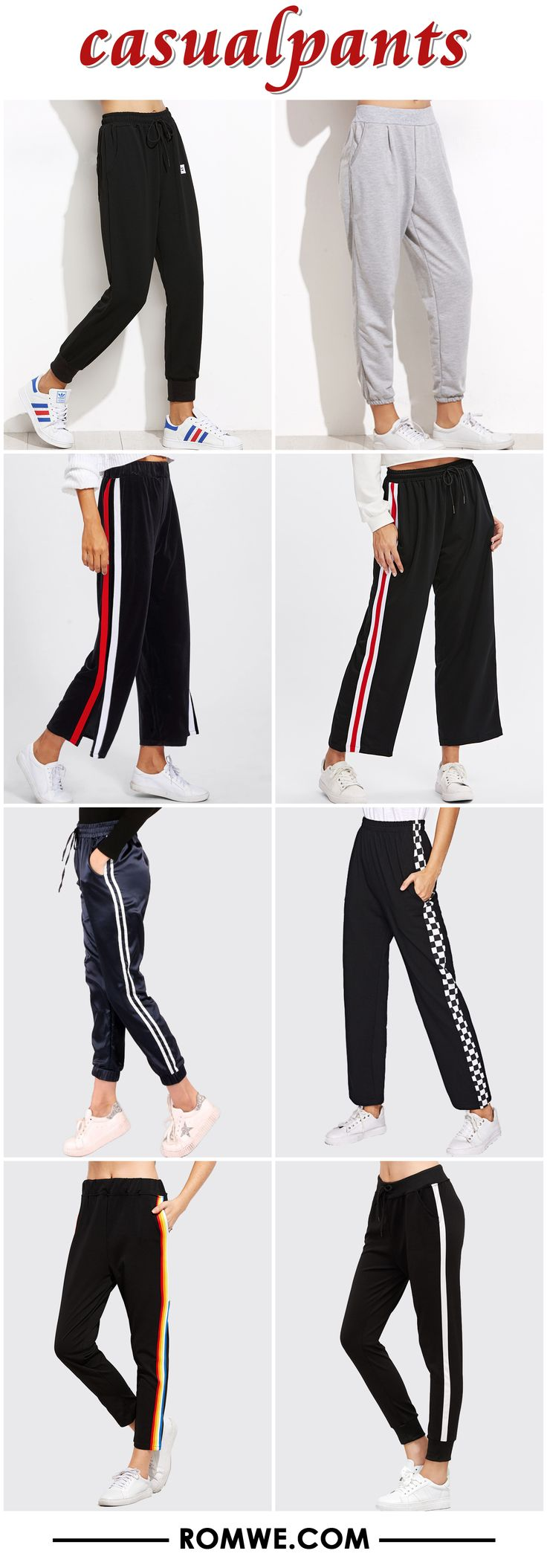 black friday sale - casual pants 2017 - romwe.com