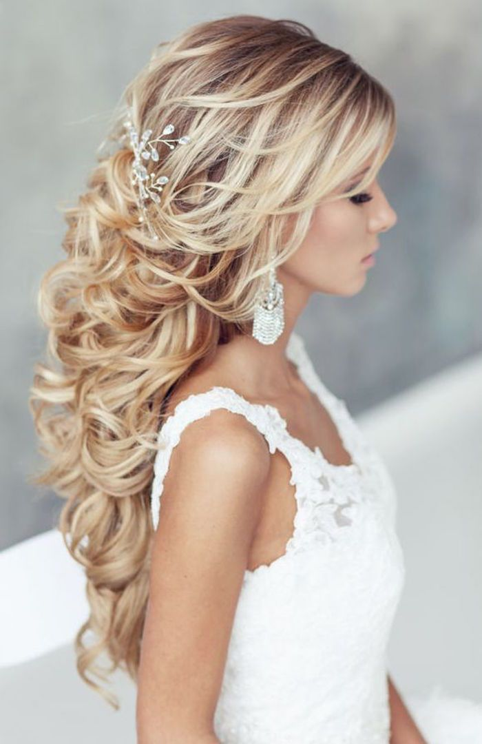 25  best ideas about Prom hair styles for strapless dresses on ...