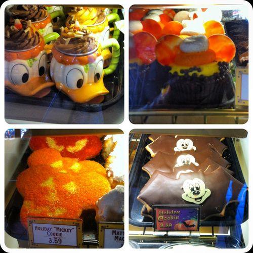 missmaceymouse:  Disneyland Halloween yummies.