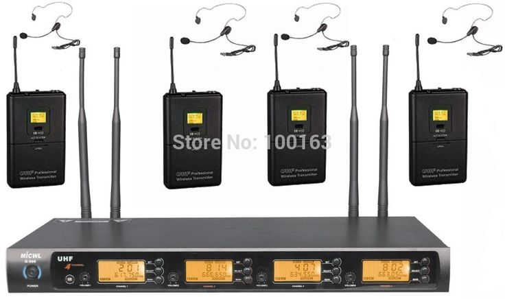 379.91$  Watch here - http://aip4m.worlditems.win/all/product.php?id=32266132583 - UHF 4 channel G-900L Wireless Headset microphone system ( Bodypack Transmitter headworn mic )