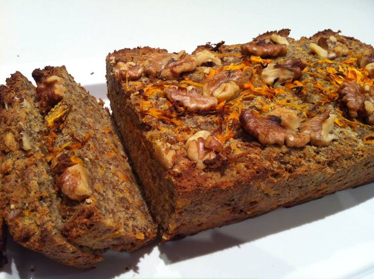 Carrot & Walnut Loaf | Jessica Sepel