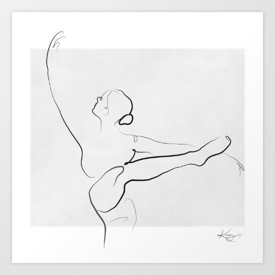 Line Drawing Poster : The best dancer drawing ideas on pinterest ballerina