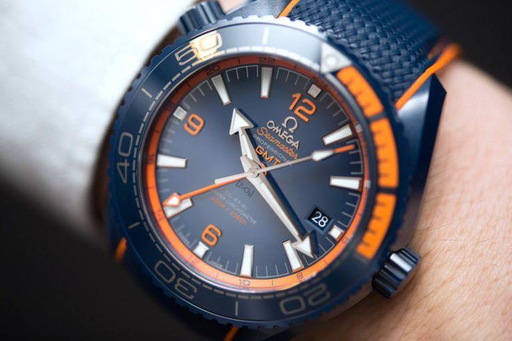 Omega Seamaster Planet Ocean Big Blue Ceramic GMT Watch Hands-On Hands-On