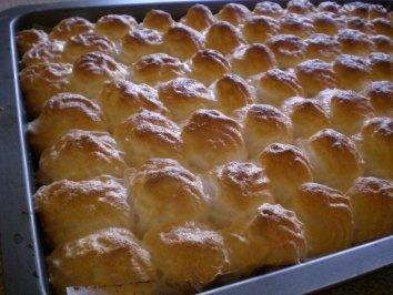 red currant merengue cake - Ribiselkuchen mit Schneehaube Rezept