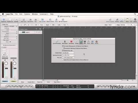 Logic Pro 9 Essential Training 3 A Setup for Record.mp4