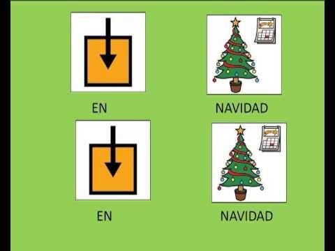 """CANCIONES - """"En Navidad, turrón y mazapán"""". Villancico adaptado con pictogramas de ARASAAC."""