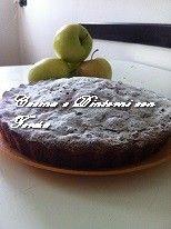 Torta di mele ed uva sultanina al profumo di limone
