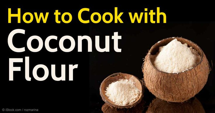 Coconut flour is gluten-free, high in fiber and protein, low in starchy carbohydrates, and provides a source of healthy fats. http://articles.mercola.com/sites/articles/archive/2015/10/26/cooking-with-coconut-flour.aspx