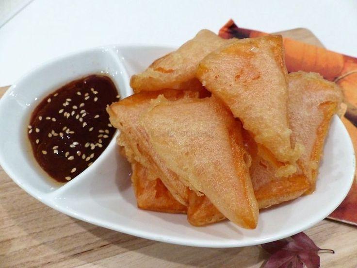 Beignets de courge façon tempura, Recette Ptitchef