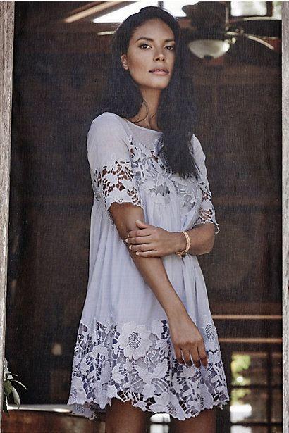 Magnolia Lace Dress #anthropologie