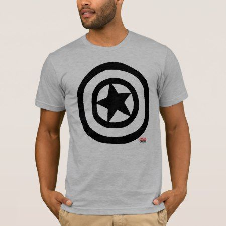 Pop Captain America Logo T-Shirt - tap, personalize, buy right now!