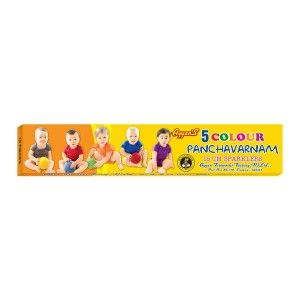 Coloured Sparklers Online Shopping. We offer a wide variety of Fireworks. Purchase Firecrackers online from Ayyan Fireworks at Best price in Bangalore. http://www.ayyanonline.com/dazzling-light/sparklers/15cm-panchavarnam-5-in-one-sparkler